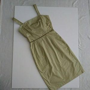 JCrew beautiful green dress.